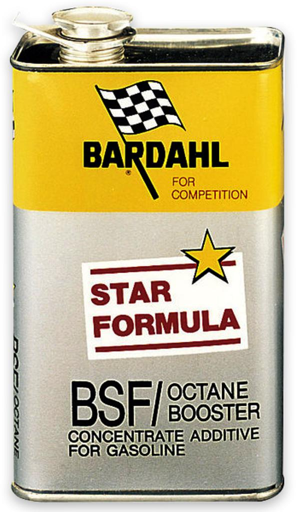 BSF/Octane Booster (Competition), 1л. 100038 BARDAHL – фото