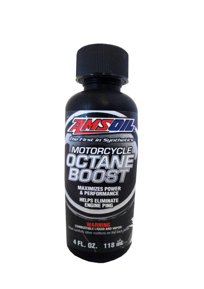 Присадка Motorcycle Octane Boost (0,118л) MOBCN AMSOIL – фото